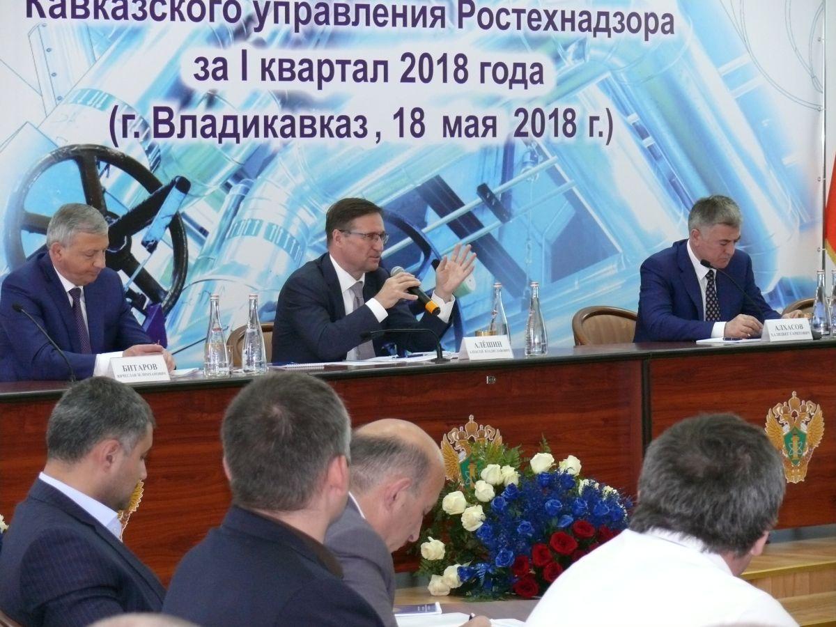Уполномоченный  принял участие в публичных обсуждениях Кавказского управления Ростехнадзора