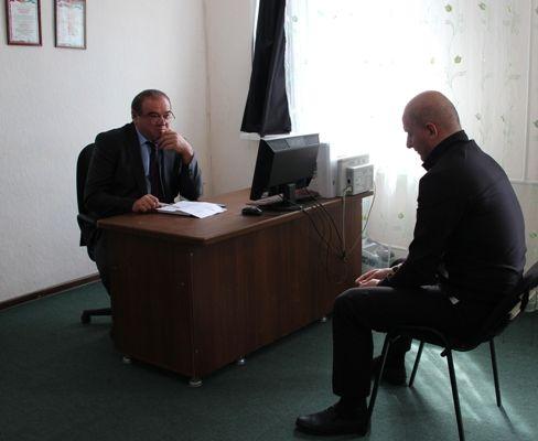 Уполномоченный Юрий Афасижев посетил исправительную колонию