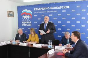 Региональный уполномоченный принял участие в обсуждении  хода реализации партийных проектов «Единой России»