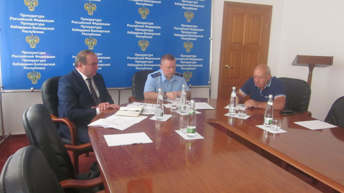 Представитель Генеральной прокуратуры и бизнес-омбудсмен в Кабардино-Балкарии провели совместный прием предпринимателей
